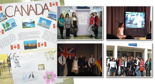 Неделя иностранных языков в школе № 1290
