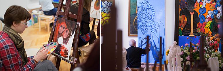 Два незабываемых дня в творческой мастерской Зураба Церетели