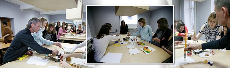 Первый этап творческого конкурса факультета дизайна