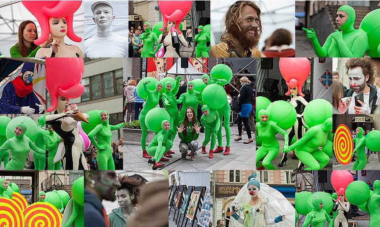 """""""Открытые улицы»: фестиваль уличного искусства"""