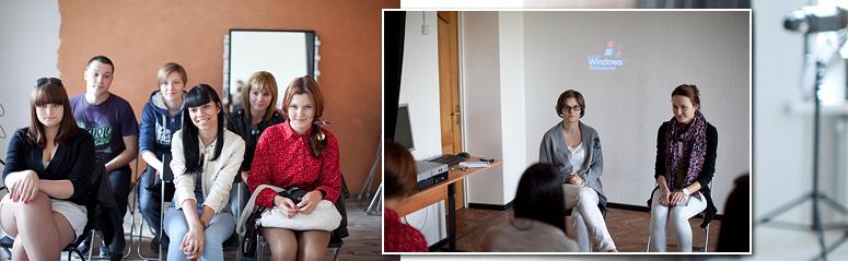 Встреча в фотостудии ИГУМО