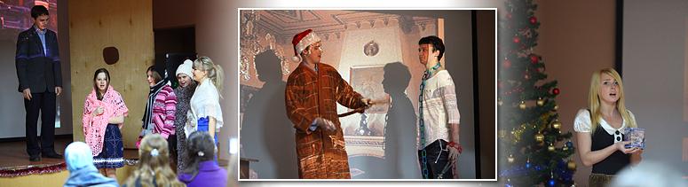 Рождественская сказка в ИГУМО
