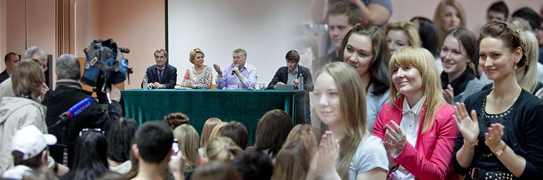 В.В. Жириновский: ставка на молодежь!