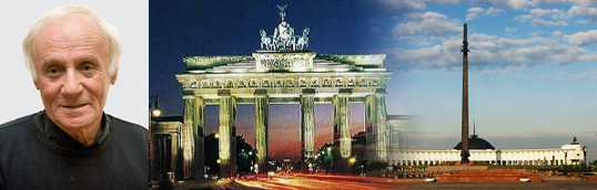 Посланец мира – у Бранденбургских ворот
