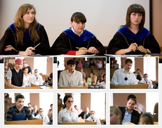 (учебный судебный процесс на юридическом факультете ИГУМО)