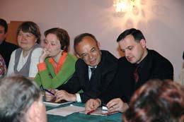 Заседание ученого совета ИГУМО
