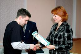 Награждение победителей соревнований ИГУМО по поиску информации в Интернете