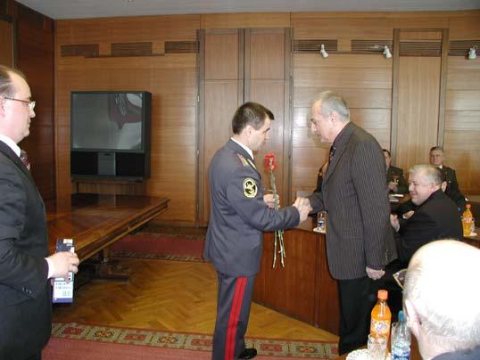 Торжественное собрание в МВД Российской Федерации