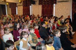 Новогодний праздник для детей сотрудников и студентов ИГУМО