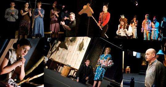 Репертуар учебного театра на второе полугодие 2008/2009 учебного года