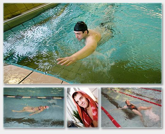 Первенство ИГУМО по плаванию: новые старты