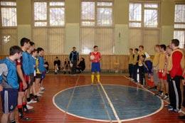 чемпионат института по мини-футболу