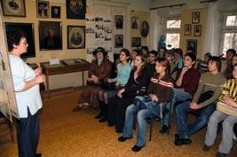 Андреева и студенты