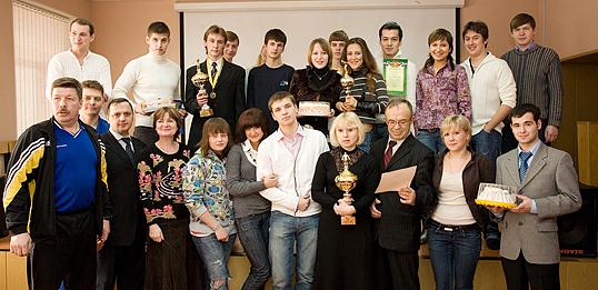 25 марта в конференц-зале института состоялось награждение победителей чемпионата ИГУМО по плаванию.