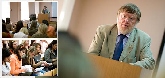Встреча студентов факультета психологии с профессором Хиларионом Петцольдом