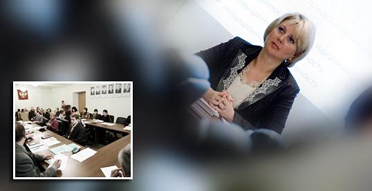 10 февраля 2009 года в Институте гуманитарного образования и информационных технологий состоялось очередное заседание Ученого совета.