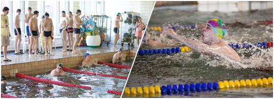 Очередной чемпионат по плаванию ИГУМО