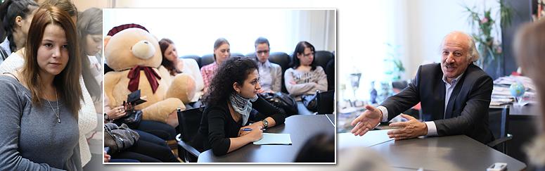 Новое открытие профессии на факультете журналистики