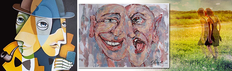Заседание клуба «Искусство глазами психоаналитика»: тема раздвоения личности