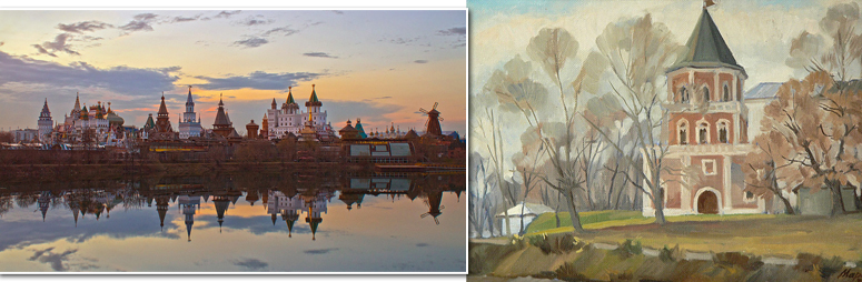 Начало обновления России (от Измайлова до Санкт-Петербурга)