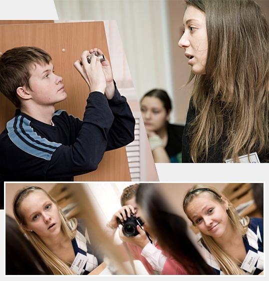 Школьник студенту – друг и брат.